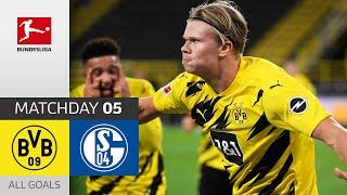 Haaland Scores in the Revierderby | Borussia Dortmund - FC Schalke 04 | 3-0 | All Goals | Matchday 5