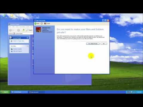 Cách cài mật khẩu cho máy tính Win XP   Xóa và thay đổi mật khẩu Win XP 1