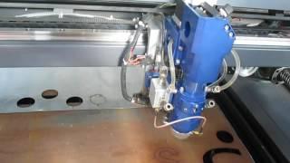 Laser machine cut 2mm metal