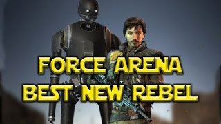Star Wars: Force Arena - Cassian Andor Best New Rebel!