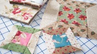 Easy Spool Quilt Block Featuring Precut Fabrics By Edyta Sitar - Fat Quarter Shop