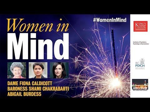 Women in Mind - an interview with Fiona Caldicott, Shami Chakrabarti and Abigail Burdess