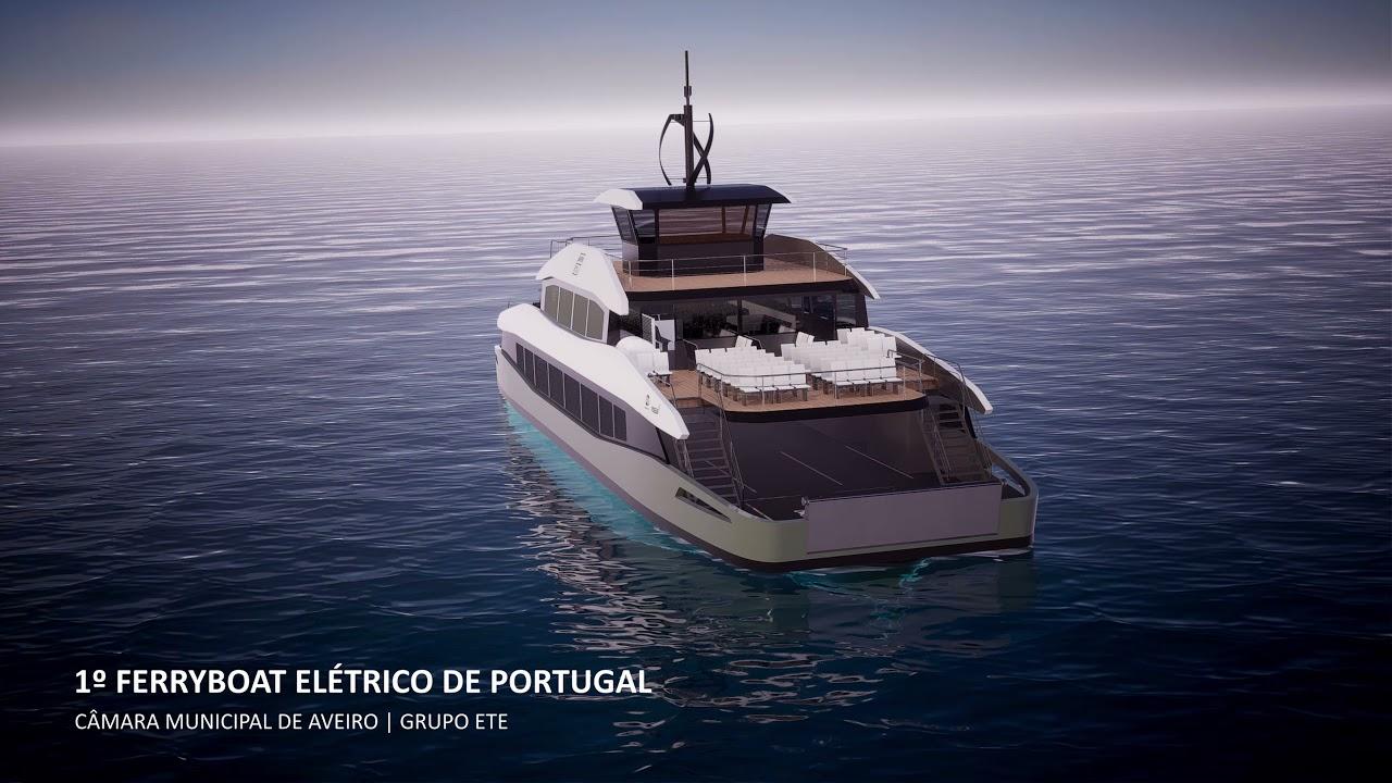 1.º Ferryboat Elétrico de Portugal - Aveiro