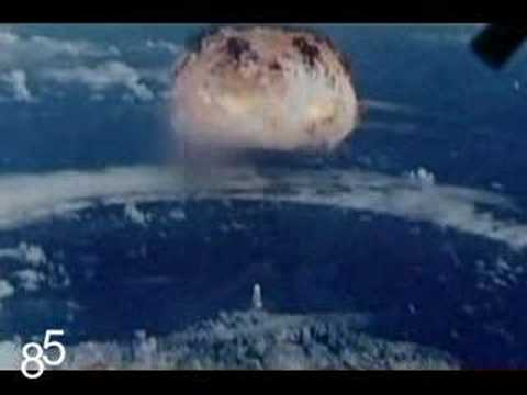 Nuclear testing in south pacific