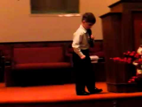 6yr old Baptist Preacher from Dalton, GA