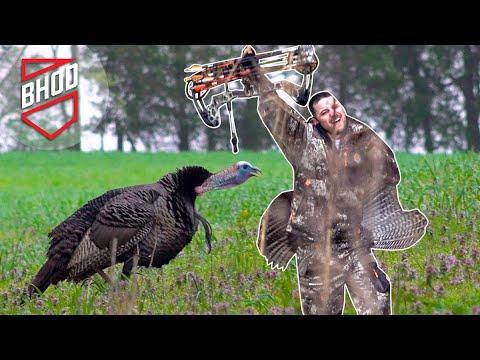 Bowhunting Turkeys in Kentucky. Bowhunt or Die Season 10, Episode 03 (видео)