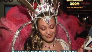preview picture of video 'carnavales 2009.Jessica Schenberger.by Luis Batalla'