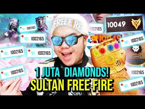 SULTAN FF NGABISIN 1.000.000 DIAMONDS TOTAL 200JUTA RUPIAH TANPA RAGU!! - Free Fire Indonesia #91