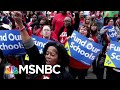 Will The Teacher Pay Gap Be Fixed On A Federal Or Local Level? | Velshi & Ruhle | MSNBC