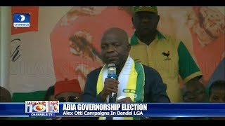Abia Gov'ship Race: Alex Otti Campaigns In Bendel LGA