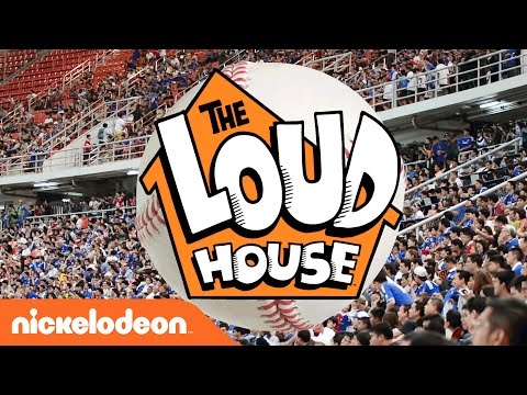 Baseball Opening Day! | The Bases Are Loaded w/The Loud House | Nick