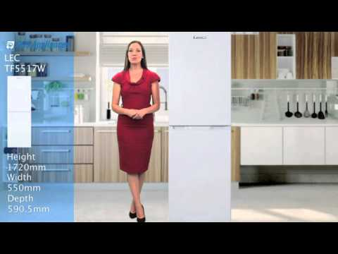 LEC TF5517W Fridge freezer review