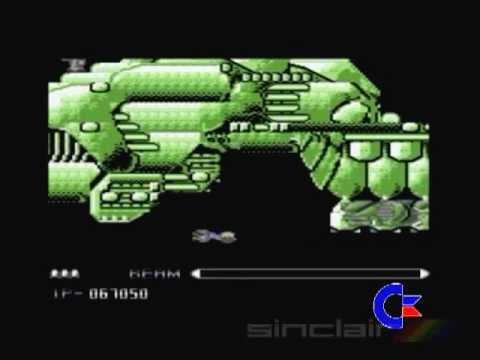 C64 Vs, ZX: R-Type (1988)