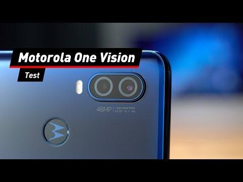 Mittelklasse-Smartphone: Motorola One Vision im Test