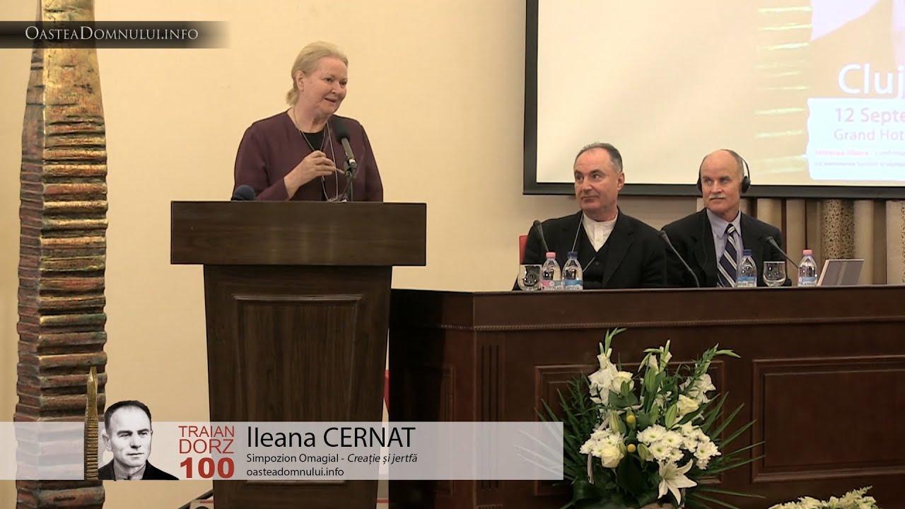 Ileana CERNAT – Simpozion Omagial Traian Dorz 100 – Cluj, 12 sept. 2013