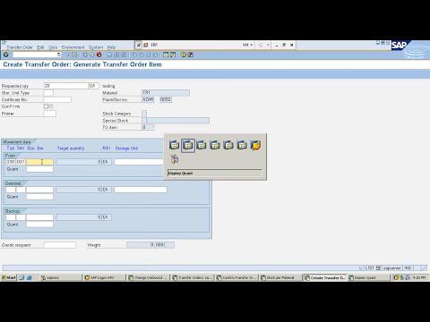 SAP WM Tutorials for Beginners   SAP Warehouse Management ...