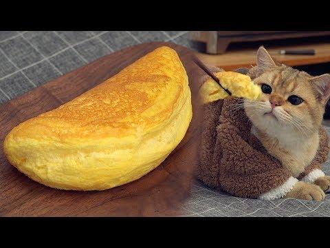 Super Fluffy Souffle Omelette