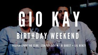 Gio Kay Reveals Behind-the-Scenes Video of His 22nd Birthday Party w/ DJ Ghost & Lil Benzy