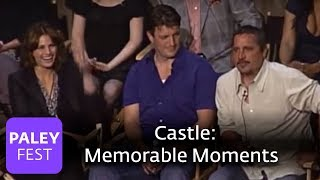 Castle - Memorable Moments On Set (Paley Center Interview)