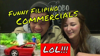 FUNNIEST PHILIPPINE commercials!!!!! ( Compilation ) REACTION