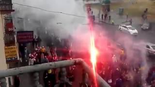 Фаны Украины и Беларуси объединились