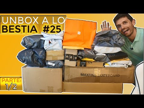 Unboxing a lo BESTIA #25 Next Level -  Spinners, Skateboards y 36 más (1/2)