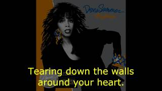 "Donna Summer - Tearin' Down the Walls (Bonus) LYRICS SHM ""All Systems Go"" 1987"
