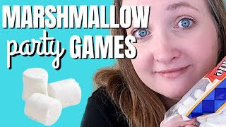 Marshmallow Party Games For Kids