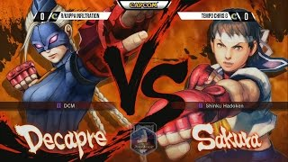 USFIV: r/Kappa Infiltration vs. Tempest ChrisG - NCR 2015 Day 1 - CPT 2015