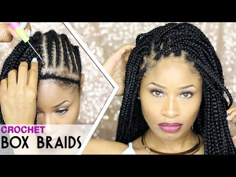 Crochet Box Braids Tumblr : How To CROCHET BOX BRAIDS ?? (looks like the real thing! free ...