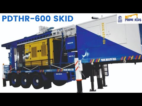 DTH 600 Skid Mounted Well Drilling Rig