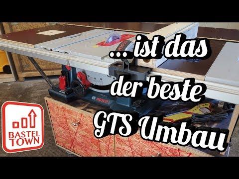 Ist sie ihr Geld wert?? Die Bosch GTS 10 XC.  Ist das der beste UMBAU??