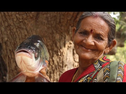 How To Cook Roasted Fish Recipe in Village Style || Myna Street Food || Food Info