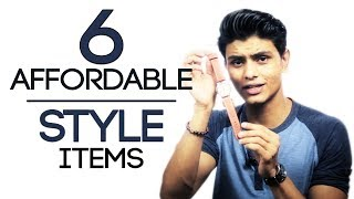 6 Affordable Style Items EVERY MAN Must Own | College Essentials For Young Men | Mayank Bhattacharya