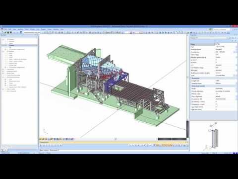 Webinar - Structural Analysis and Design of industrial structures with SCIA Engineer