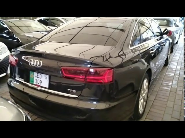 Audi A6 1.8 TFSI  2015 for Sale in Lahore