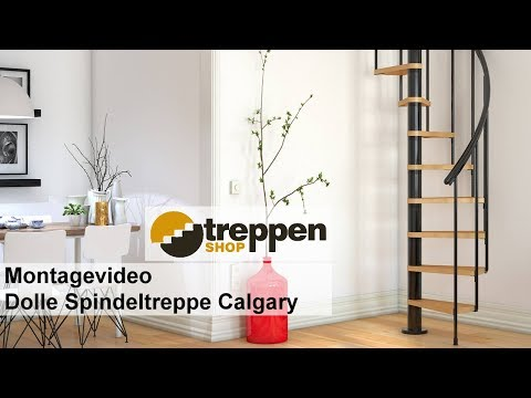 Montagevideo Dolle Spindeltreppe Calgary