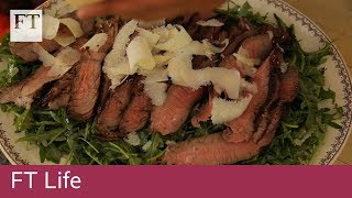 How to make BBQ steak tagliata