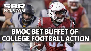 College Football Week 7 | Bet Buffet | 4 CFB Bets with BMOC | Kholo.pk