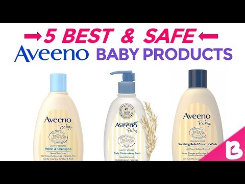 Top 5 Aveeno Baby Products in India with Price | Best Products for New Born Baby