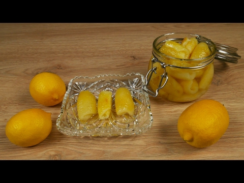 Γλυκό του κουταλιού λεμόνι
