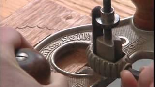 HandCarving A Mahogany Drawer Front
