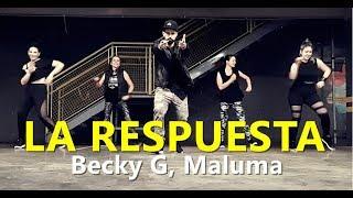 LA RESPUESTA   Becky G, Maluma | Zumba®️ | Coreografia | Cia Art Dance