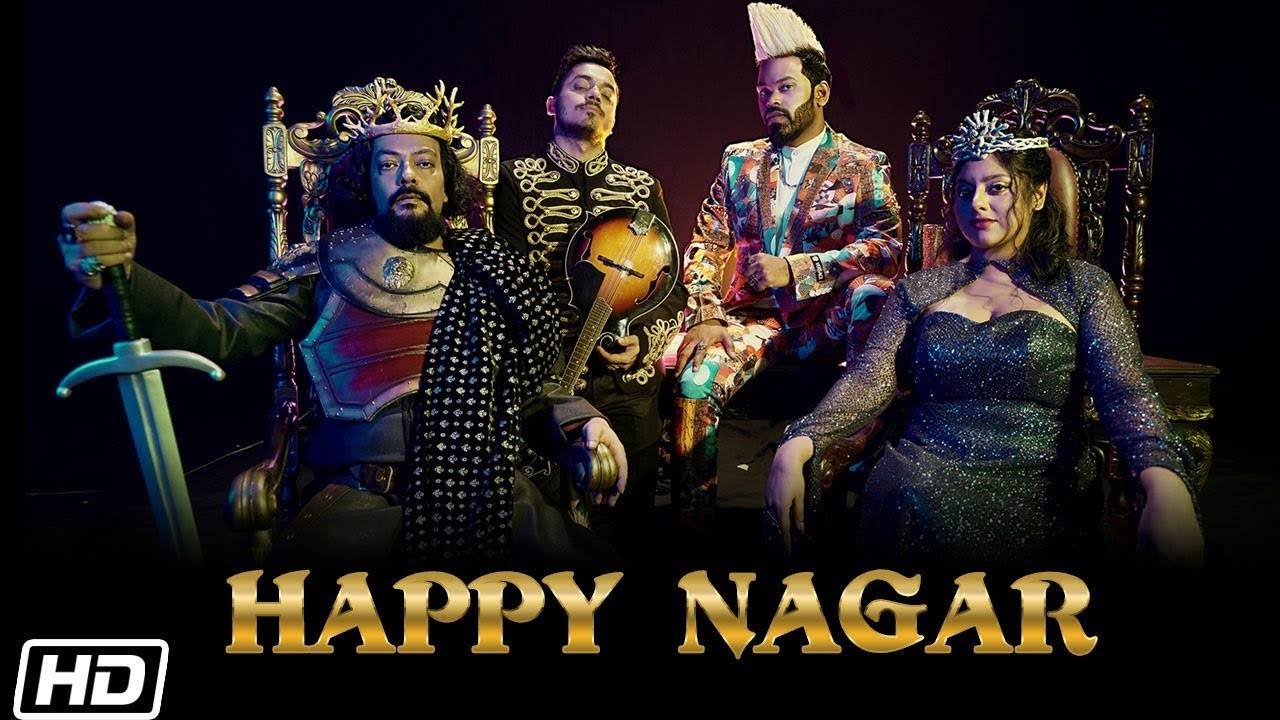 Happy Nagar Lyrics I Thomson Andrews  | Lyrics