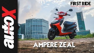 Ampere Zeal First Ride Video Review