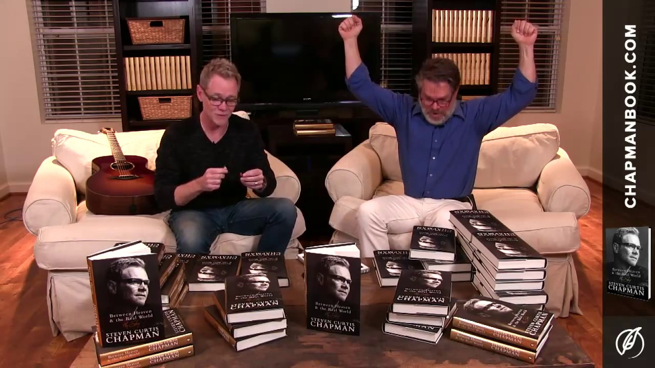 Between Heaven and the Real World: My Story by Steven Curtis Chapman