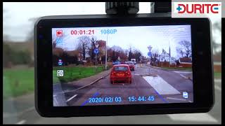 Durite 1080P ADAS Forward Facing Dash Camera | 0-870-17