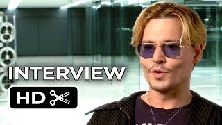 Transcendence Interview  Johnny Depp 2014  SciFi Mystery Movie HD