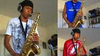 Lionel Richie ft. Akon - Just Go - Tenor Saxophone by charlez360