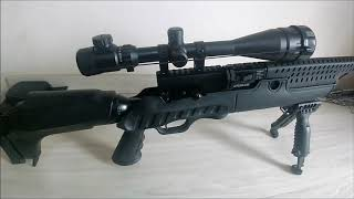Пневматическая винтовка Hatsan Predator от компании CO2 - магазин оружия без разрешения - видео
